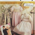 Simplicity 7400 Oliver Goodin Sewing Pattern Child's Dress w/ Smocking Size 3-8