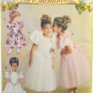 Butterick 6548 It's Enchanting Sewing Pattern Child's Party Dress Size 2-3-4