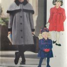 Little Vogue 8182 Sewing Pattern Toddlers' Children's Coat Size 2-3-4