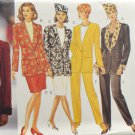 Butterick 3633 Misses' Sewing Pattern Jacket Skirt Pants & Hat Size 8-10-12