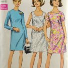 Simplicity 7696 Sewing Pattern Dress in Half Sizes w/ 3 Necklines Size 18 1/2