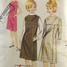 Butterick 3243 Sewing Pattern Sub Teen 1960s Dress or Jumper Size 8S