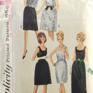 Simplicity 6227 Sewing Pattern Junior Prom Dress Long or Short Size 13