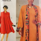Butterick 3598 Sewing Pattern Misses' Dress Coat & Hat Size 12-14-16