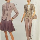 Vogue 8430 Sewing Pattern Misses' Jacket Skirt Pants Size 8-10-12
