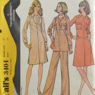 McCall's 3404 Sewing Pattern Misses' Dress or Tunic & Pants Size 14