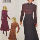 Butterick 3670 Sewing Pattern Misses' Dress w/ Shoulder Pads Size 12-14-16