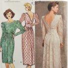 Butterick 4902 Sewing Pattern Rimini Designer Misses' Cocktail Dress Size 14-16-18