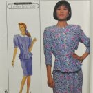 Simplicity 9038 Sewing Pattern Misses' Two-Piece Dress Size 20
