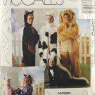 McCall's 3940 Animals Costume Sewing Pattern Children's Size Medium 8-10