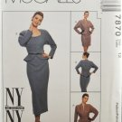 McCall's 7870 NY Collection Sewing Pattern Misses' Suit Jacket & Skirt Size 12