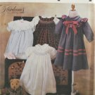 Simplicity 7644 Sewing Pattern Child's Dress w/ Smocking Variations Size AA 2-4