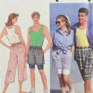 Simplicity 7840 Sewing Pattern Unisex Shorts Tank Top Shirt Size LG-XL