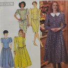 Simplicity 9772 Sewing Pattern Dress w/ Slim or Full Misses' Size 4-14