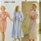 Simplicity 7754 Sewing Pattern Misses Dress w/ Slim or Full Skirt & Belt Size 8-14