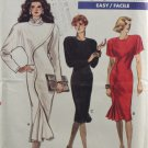 Vogue 7039 Sewing Pattern for Knits Misses' Dress Size 10