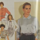 Simplicity 7379 Sewing Pattern Misses' Blouse w/ Collar Options Size 6-14