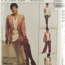McCall's 6895 Sewing Pattern Misses' Jacket Vest Skirt & Pants Size 10-14