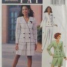 Butterick 6104 Leslie Fay Sewing Pattern Misses' Jacket Shorts & Pants Size 8-12