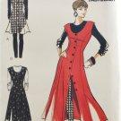 Butterick 6482 Designer Sketchbook Sewing Pattern Misses' Jumper Top & Pull-On Leggings Size 12-16