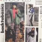 McCall's 6108 Back To Basics Sewing Pattern Misses' Stirrup Pants Size 12-16