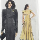Vogue 9957 Sewing Pattern Very Easy Misses' Dress in 2 Styles Size 6-10