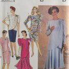 Simplicity 7060 Sewing Pattern Misses' Tunic Dress Skirt Size 6-14