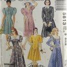 McCall's 5813 Fashion Basics Sewing Pattern Misses' Dress Size 8-12