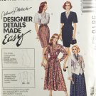 McCall's 5810 Palmer Pletsch Sewing Pattern Misses' Suitable Dress Size 12