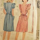McCall 5289 Sewing Pattern Misses' Pinafore Dress Size 16 Bust 34