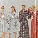Simplicity 9950 Sewing Pattern Unisex Robe Bathrobe Size A XS-XL