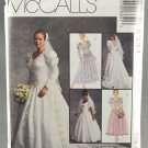 McCall's 6334 Bridal Sewing Pattern Misses' Wedding Gown & Bridesmaids' Dresses