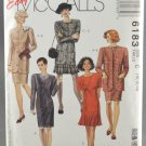 McCall's 6183 Sewing Pattern Misses' Jacket & Dress Sizes 10-14