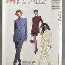 McCall's 7879 Sewing Pattern Misses' Suit w/ Skirt & Pants Sizes 10-14