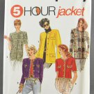 Simplicity 7964 Sewing Pattern Misses' 5 Hour Jacket Sizes 8-14 Uncut