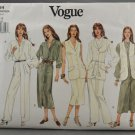 Vogue 1364 Sewing Pattern Misses' Vest Dress Top Skirt & Pants Size 8-12
