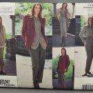 Vogue 1236 Sewing Pattern Calvin Klein Misses' Jacket Vest Skirt Shirt Pants & Scarf Size 8-12