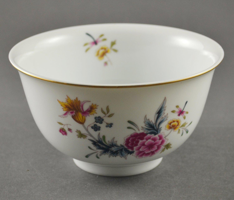 1981 Avon American Heirloom Flowered China Bowl