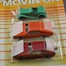 MidgeToy Movin' On Die Cast Metal 1981 Cars
