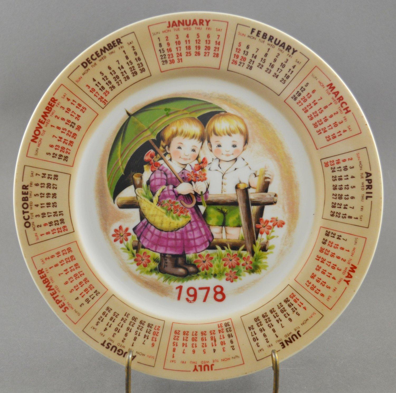 1978 Chadwick Miller Alpine Calendar Collector Pocelain Plate