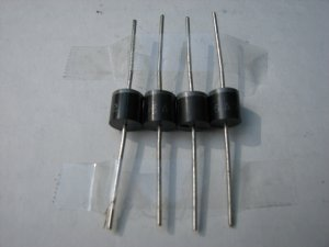 4- 6 AMP DIODES FOR SOLAR CELLS, 6 amp Diodes for  SOLAR PANELS, OR TURBINES