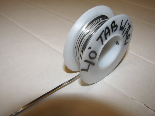40' TABBING TAB WIRE FOR NEW BROKEN SOLAR CELLS,pv solar cells wire