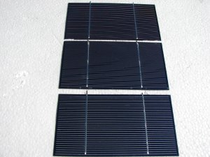 """36- 3""""x6"""" short tab PV solar cells, {ON SALE} 3.65 AMPS EACH .55 VOLTS EACH,free shiping usa,ca"""