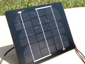 3.3 watt mono A- grade solar panels