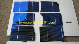 Solar Cells Set of  75  3 x 6  potential halfs For Making Solar Panels