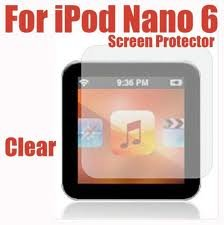 On Sale : Clear LCD MP3 Screen Protector Guard For iPod Nano 6th Gen.