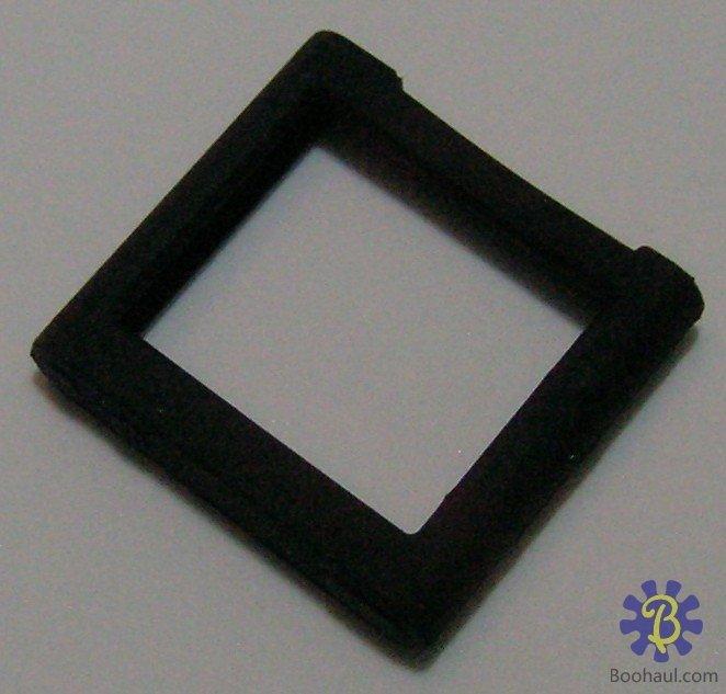 On Sale : Silicone Skin Cover Case For iPod Nano 6th Gen. (Black)