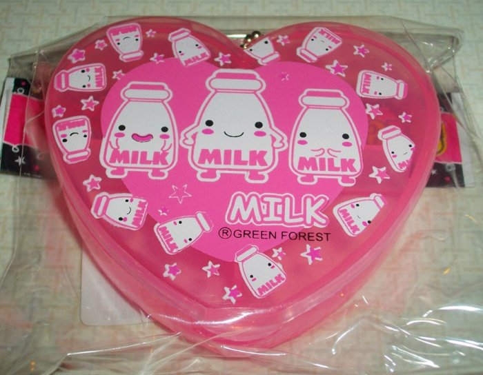 I Love Milk Pinky Sweet Pill Case