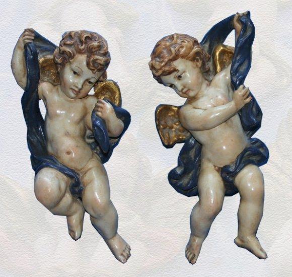 Wall Hanging cherub angels Antique Style