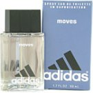 ADIDAS MOVES by Adidas EDT SPRAY 1.7 OZ